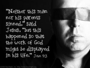 john 9, man born blind
