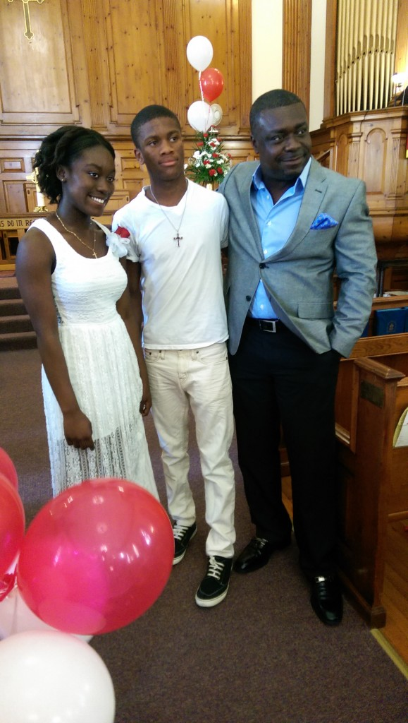 Pentecost Confirmation Sunday 2014